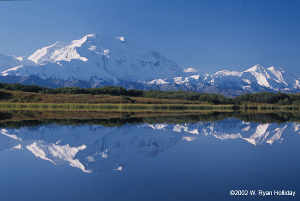 mountaininterval.org - Denali from Reflection Pond